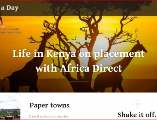 Blog: Africa Direct Student Workplacement in Kenya