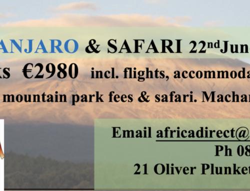 Kilimanjaro Trek 2018