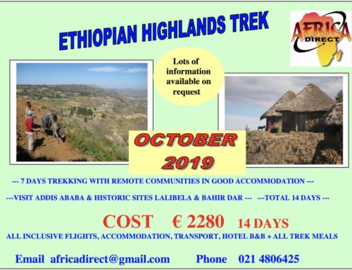 Ethiopian Highland Trek 2019
