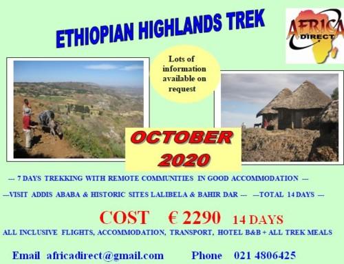 Ethiopian Highland Trek 2020
